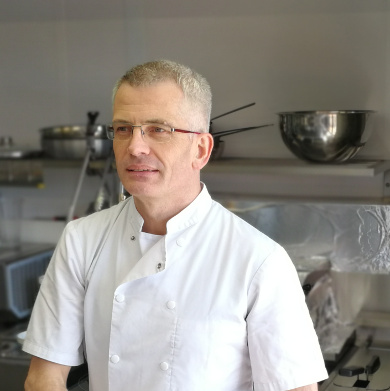 Bernard en cuisine