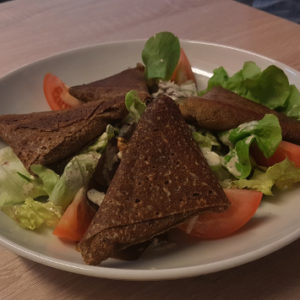 Salade Samoussa du moment